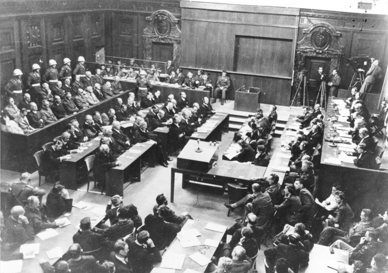 the impact of the nuremberg trials in setting a standard international court system