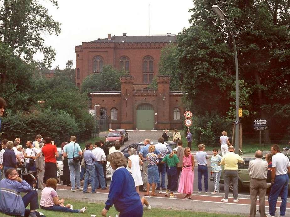 Август 1987 года. Межсоюзная тюрьма Шпандау.