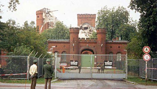 Начало разрушения тюрьмы Шпандау, сентябрь 1987 г.