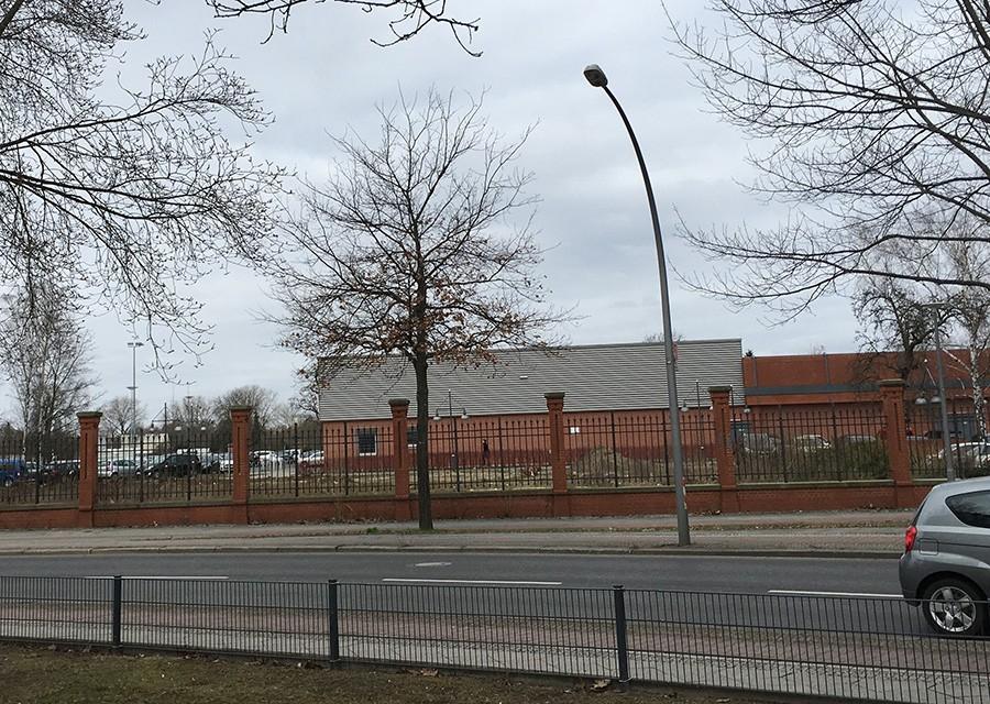 2017 год. 30 лет назад здесь стояла тюрьма Шпандау.